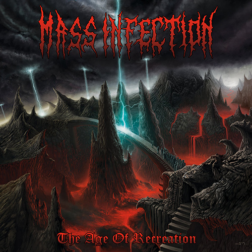 Mass Infection - The Age Of Recreation recenzja okładka review cover