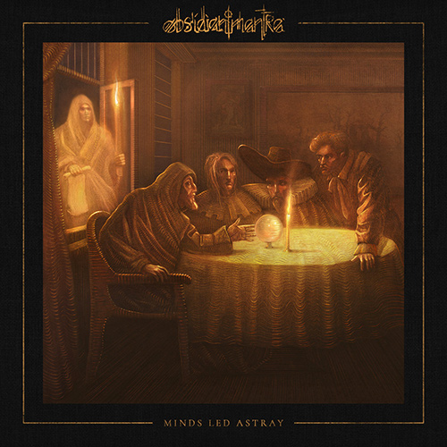 Obsidian Mantra - Minds Led Astray recenzja okładka review cover