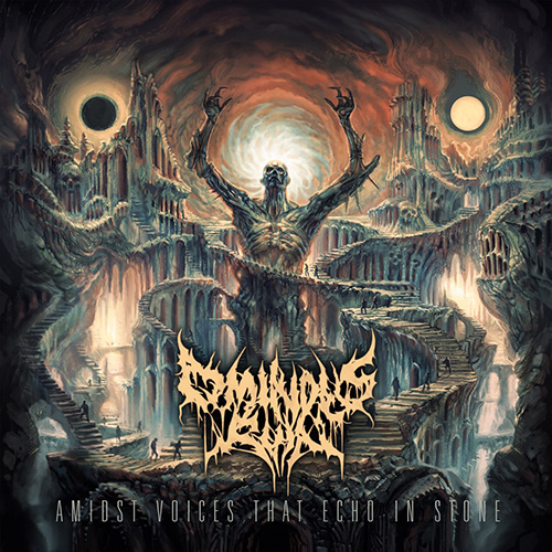 Ominous Ruin - Amidst Voices That Echo In Stone recenzja okładka review cover