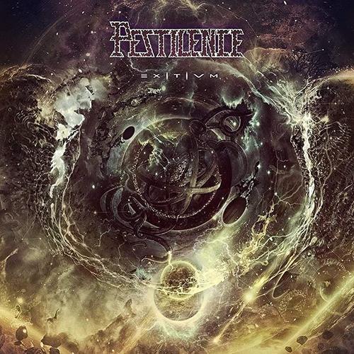 Pestilence - Exitivm recenzja okładka review cover