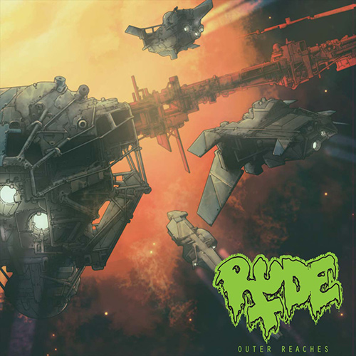 Rude – Outer Reaches recenzja okładka review cover